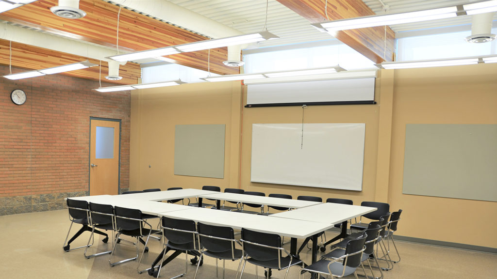 Photo of Meeting Room at Alice Turner Library