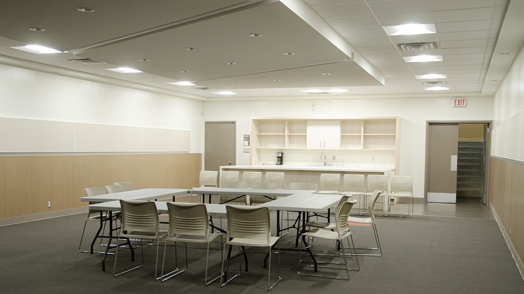 Photo of Auditorium* at J.S. Wood Library