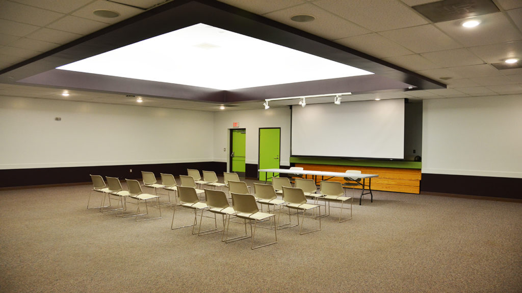 Photo of Auditorium at Rusty Macdonald Library