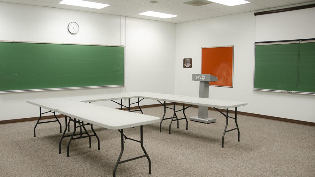 Photo of Meeting Room at Rusty Macdonald Library