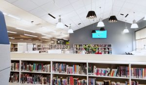 Image Rusty Macdonald Library Interior