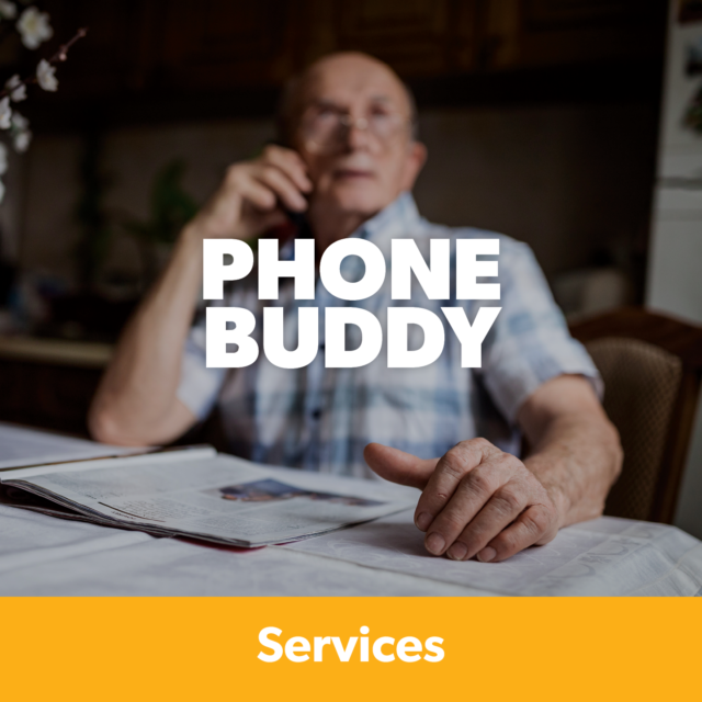 Graphic: Phone Buddy Service