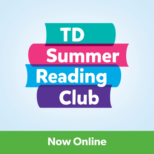 Graphic: TD Summer Reading Club Now Online