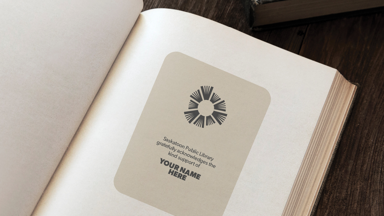 Example of Bookplate: Your name here