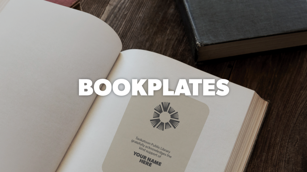 Donate and receive a bookplate