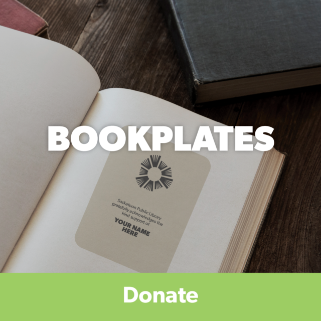 Donate to get a bookplate