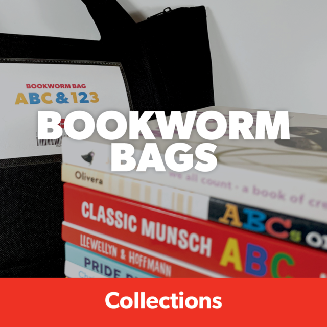 Themed bookworm bags for kids